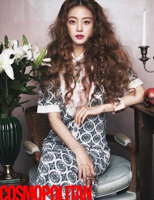 Han Ye Seul Cosmopolitan February 2016