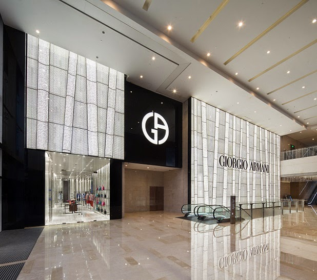 mylifestylenews: Giorgio Armani Opens First Boutique in ...