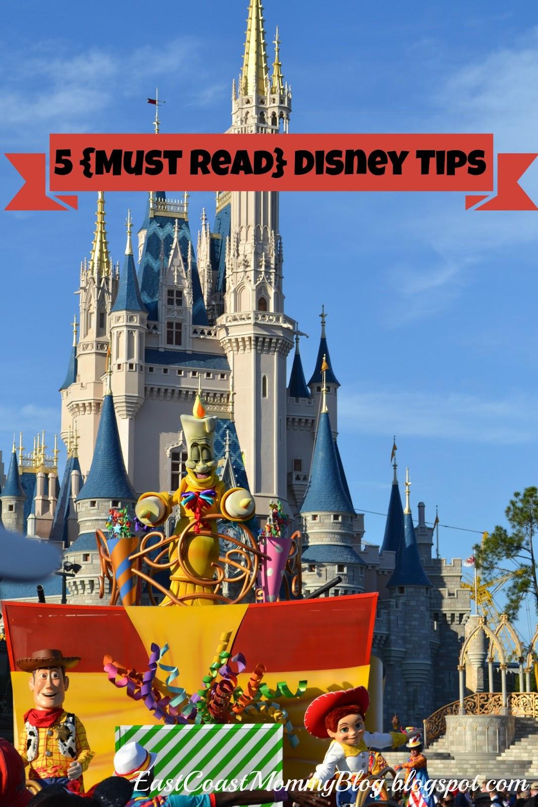 East Coast Mommy 5 Disney Vacation Tips