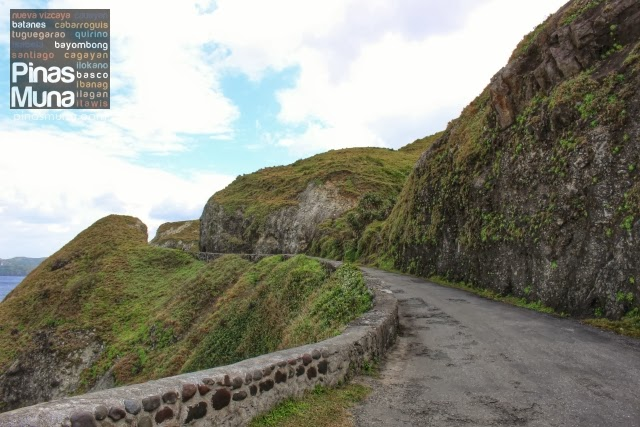 cliff road on Batan Island Batanes