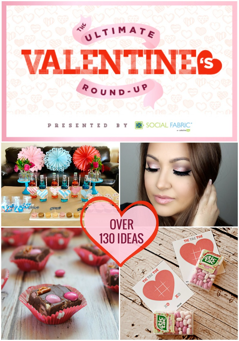 With over 130 ideas, this Ultimate Valentine's Day Round-Up has something for everyone!