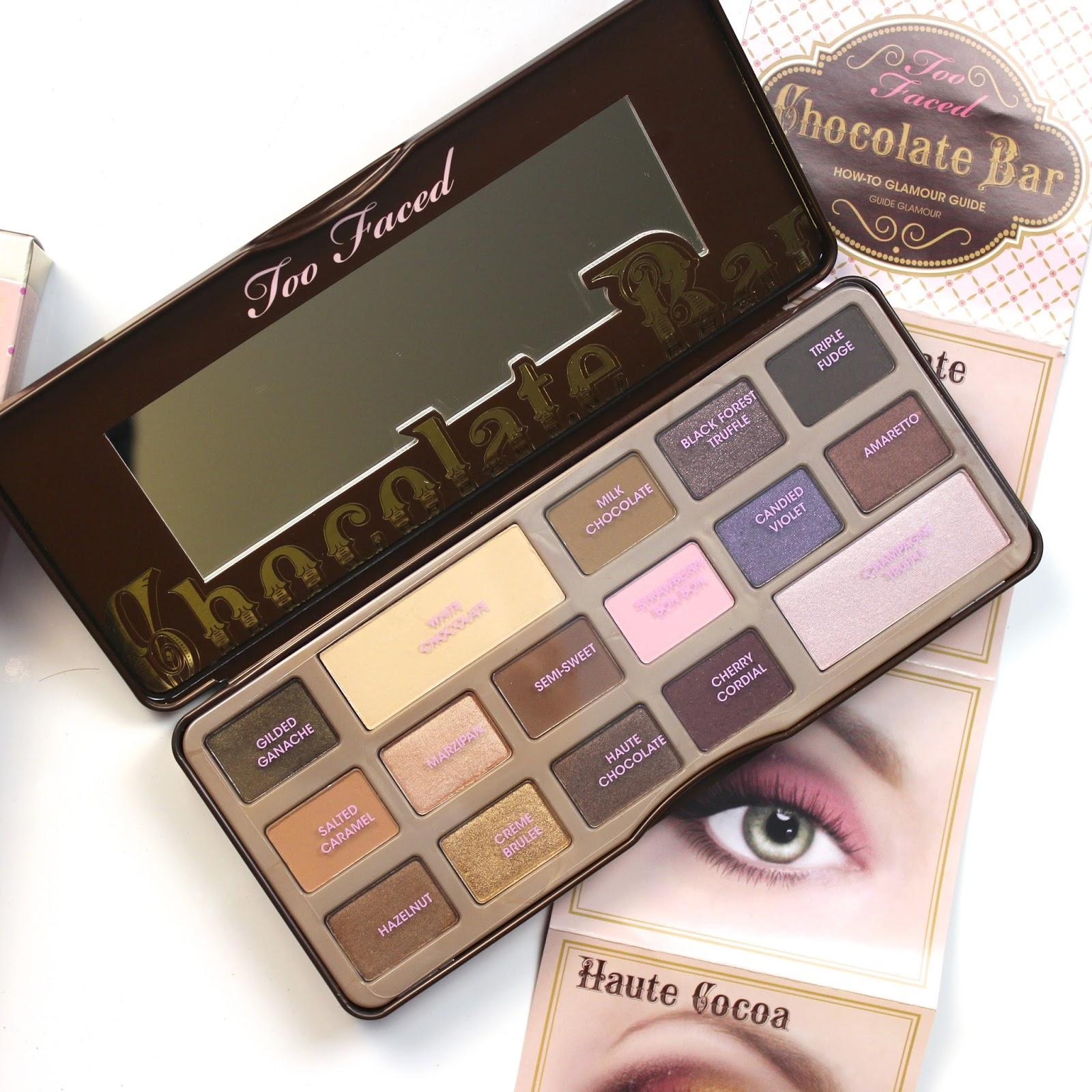 Review, Swatches, & Tutorial: Too Faced Chocolate Bar Palette ...