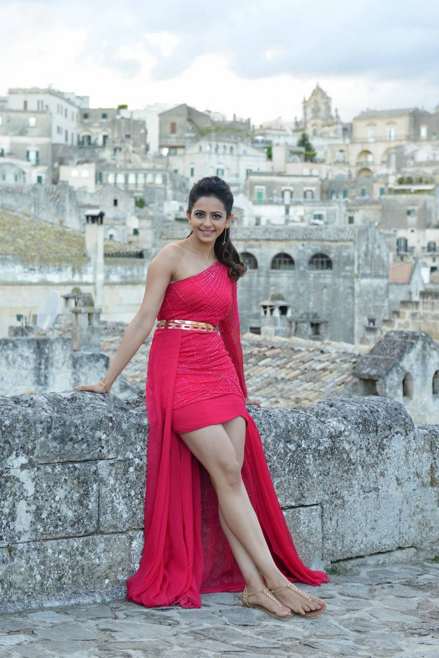 Rakul Preet Singh New Stills From Bruce Lee Telugu Movie
