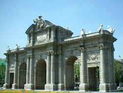 Madrid. Puerta de Alcalá.
