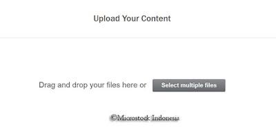 cara upload content di shutterstock