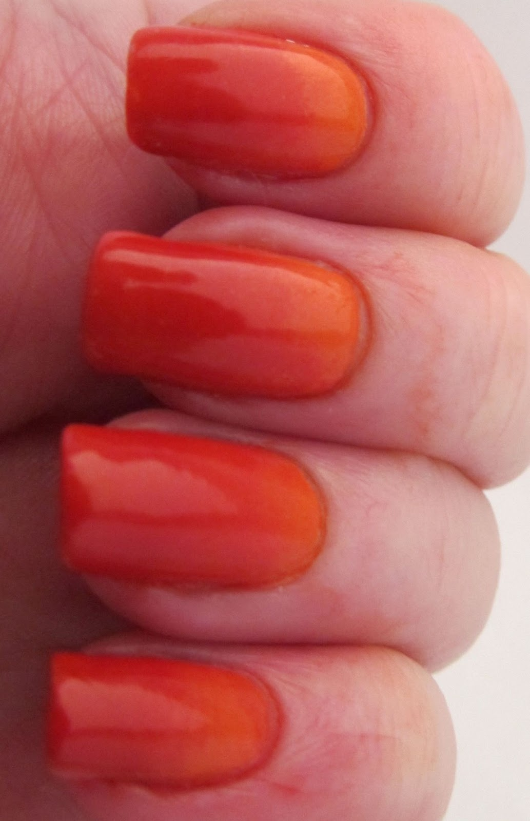 It\'s all about the polish: Ombre Nails