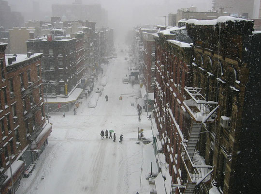 El clima en New York