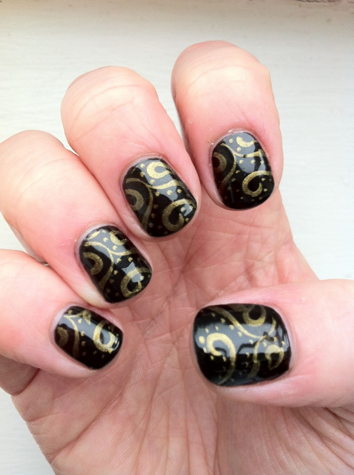 Brush up and Polish up!: CND Shellac Nail Art - Blackpool and Konad ...