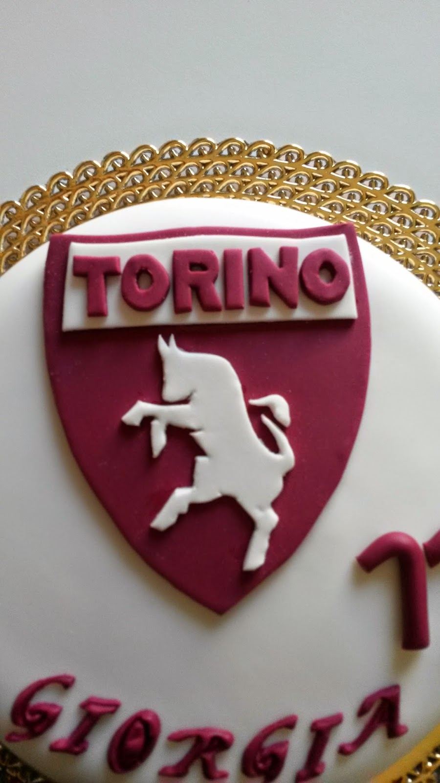 Cake Design Provincia Di Torino : Tort&Go - Delizie al Forno: Torta Torino FC