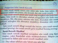 Syiah Menyusup? Buku PAI SMP Sebut Shalat Jum'at Shalat Sunnat