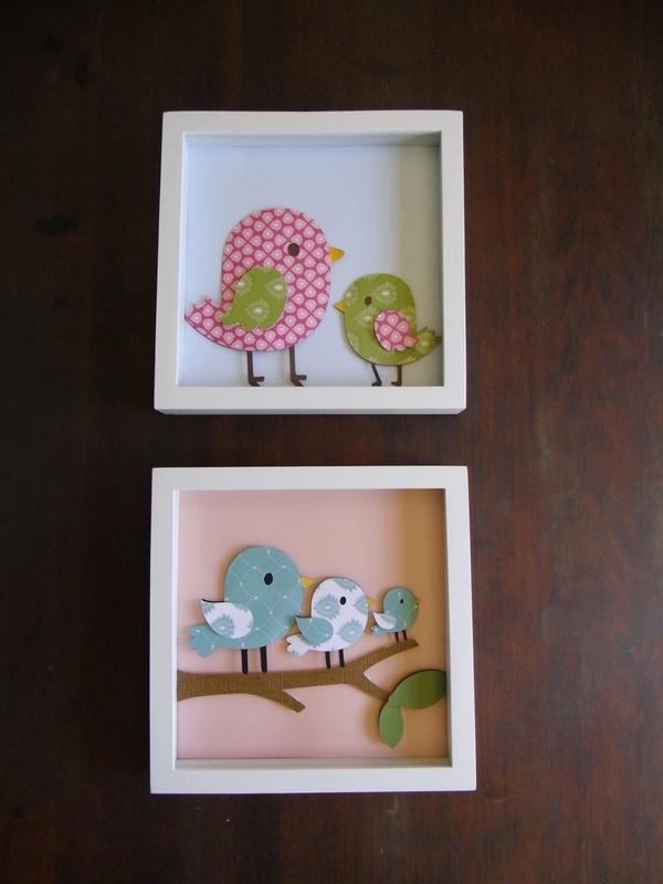 Manualidades decoraci n pintura cuadro para - Cuadros para habitacion bebe ...