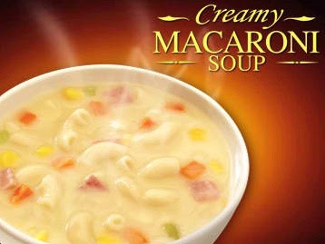 Jollibe Menu items: Jollibee macaroni soup