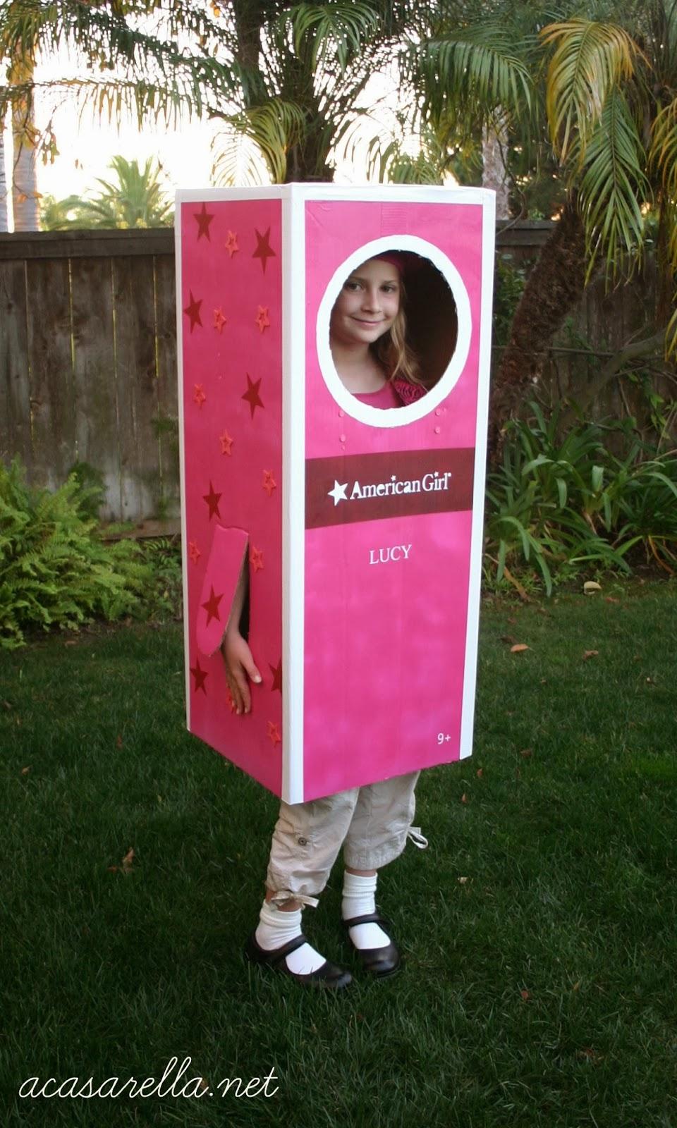 Diy american girl box halloween costume 39 a casarella for American girl crafts diy