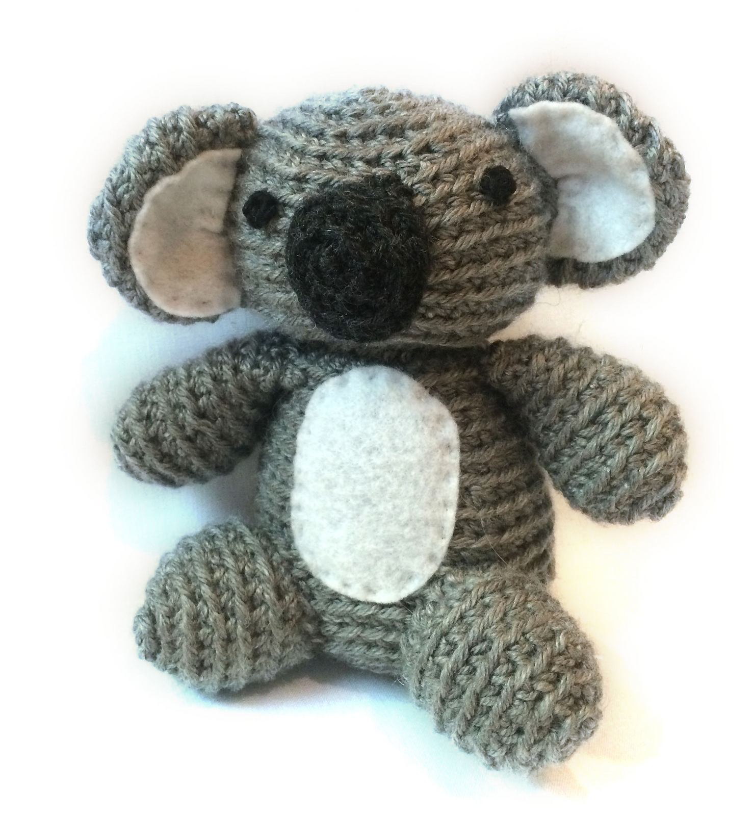 Crochet Pattern Koala Bear : The Spicy Knitter: FO: Sam the Koala II