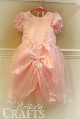 Pink Princess Dress Costume with Petticoat