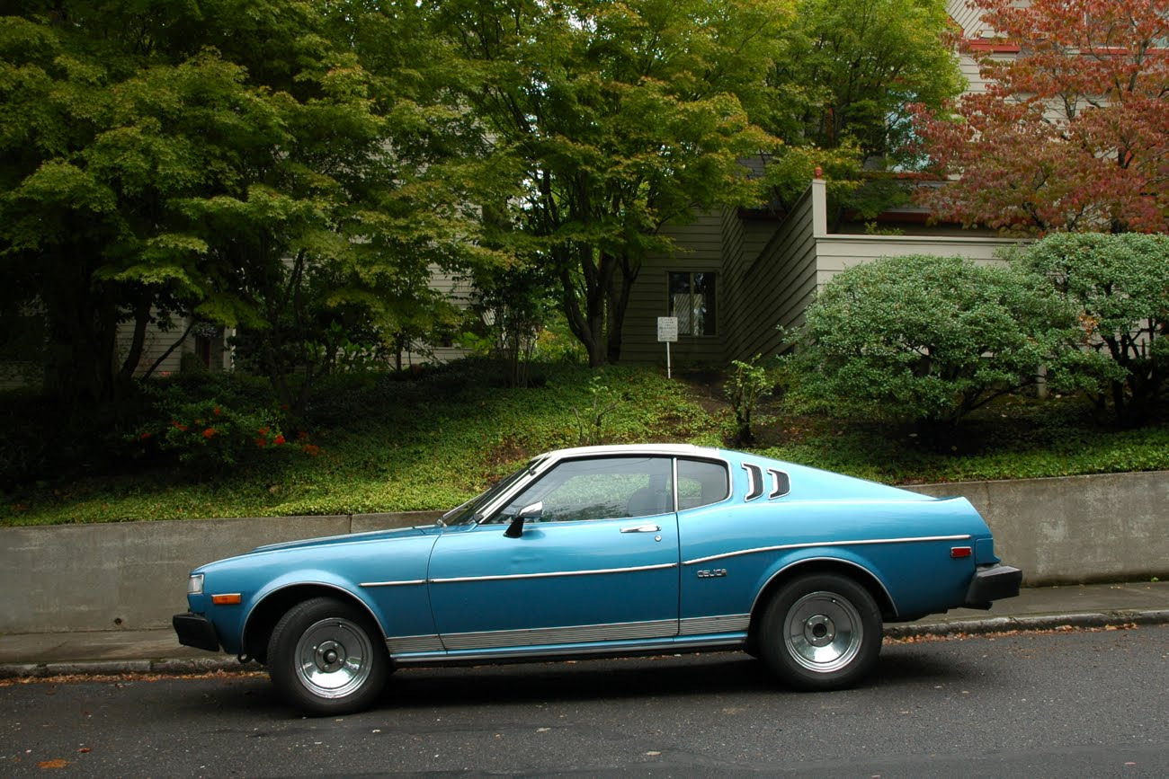 Old Parked Cars 1976 Toyota Celica Gt 1973 Liftback November 8 2011
