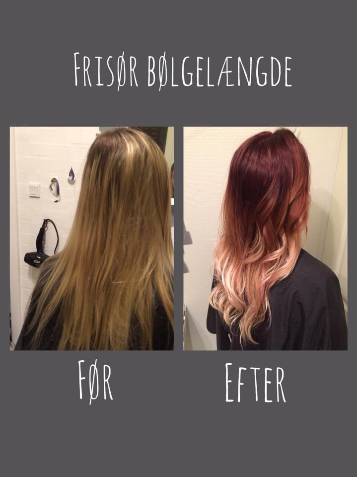 fjern hårfarve fra håret