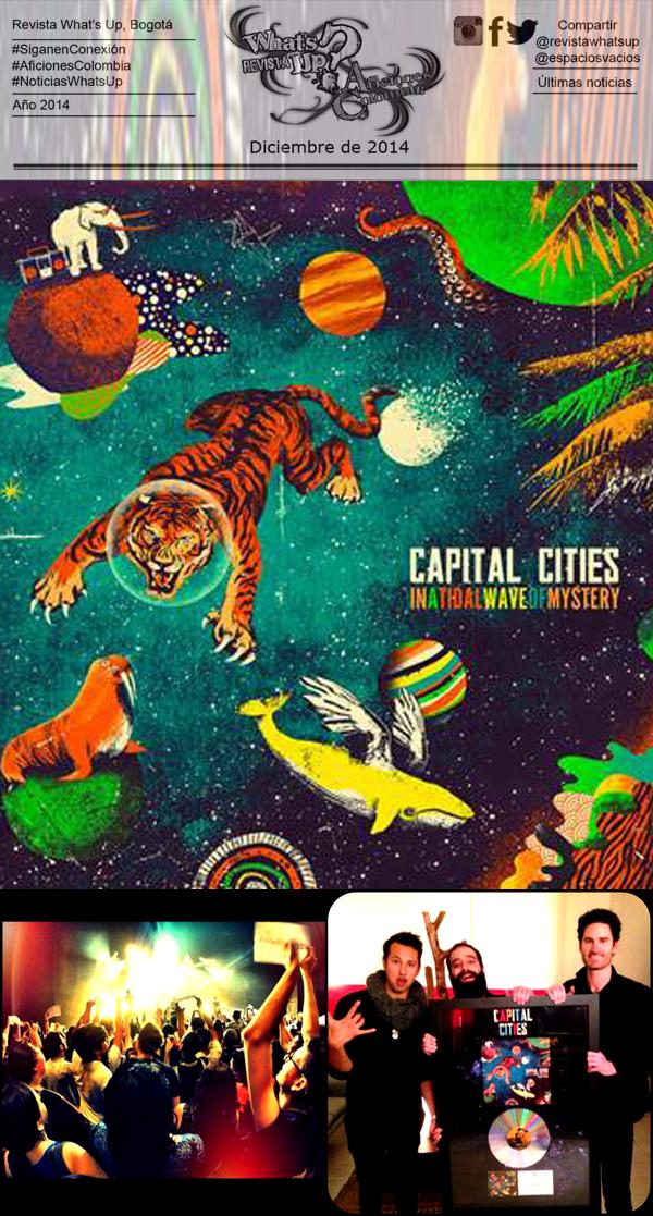 Capital-Cities-Histórico-Concierto-Certificación- Disco-Platino-Sold-Out