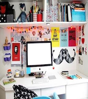 home office escritorio geek feminino