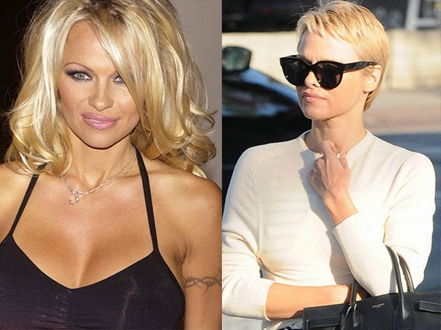 Pam Anderson Hair Cut October 2013 | LONG HAIRSTYLES