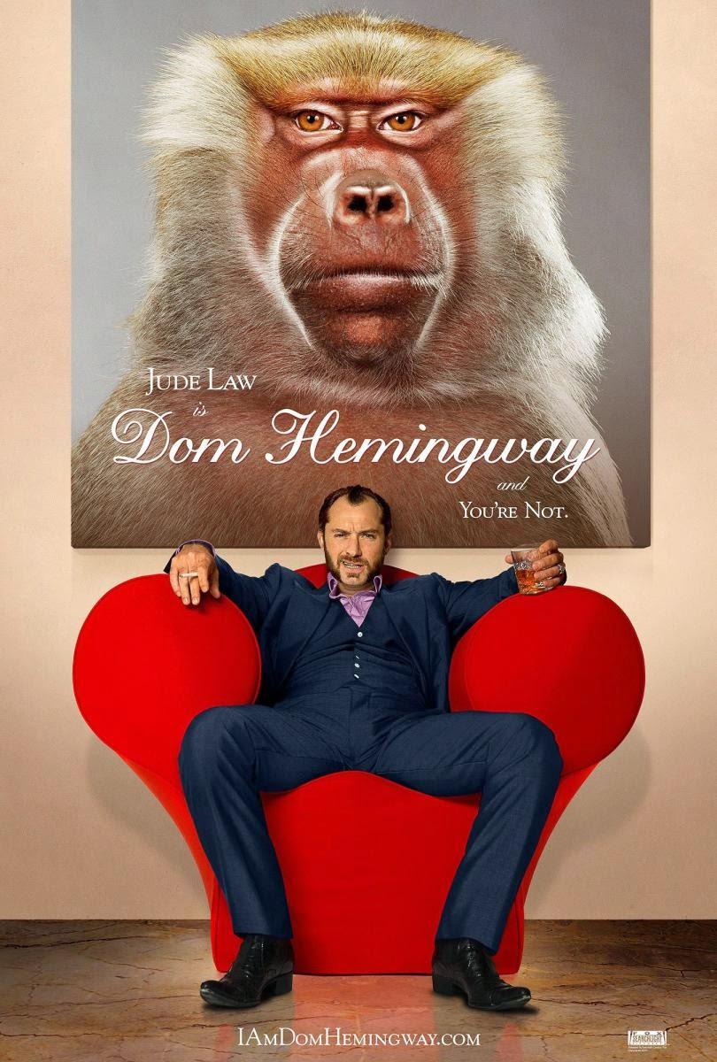 Crítica de Dom Hemingway, dirigida por Richard Shepard y protagonizada por Jude Law.