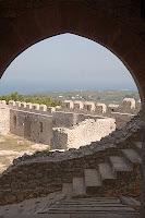 Inside Castel Tornese - Chlemoutsi - Greece