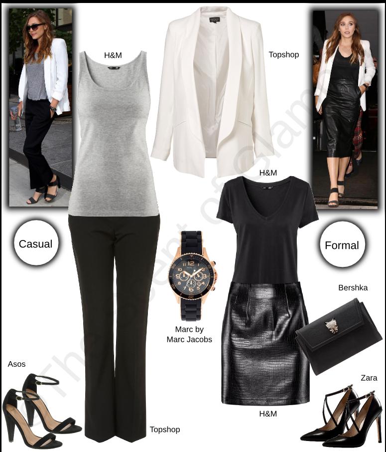asos, bershka, celebrity style, Elizabeth Olsen, h and m, marc jacobs, topshop, zara