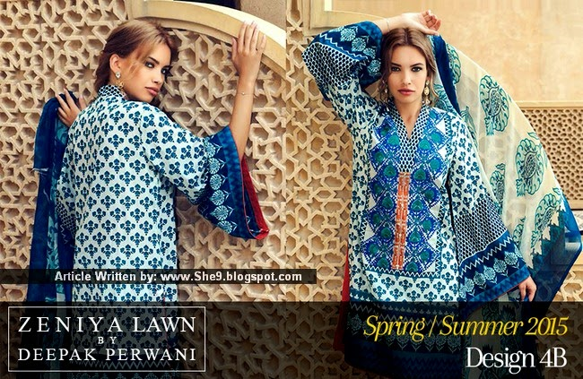 Zeniya Lawn 2015 Catalog Launched by Deepak Perwani