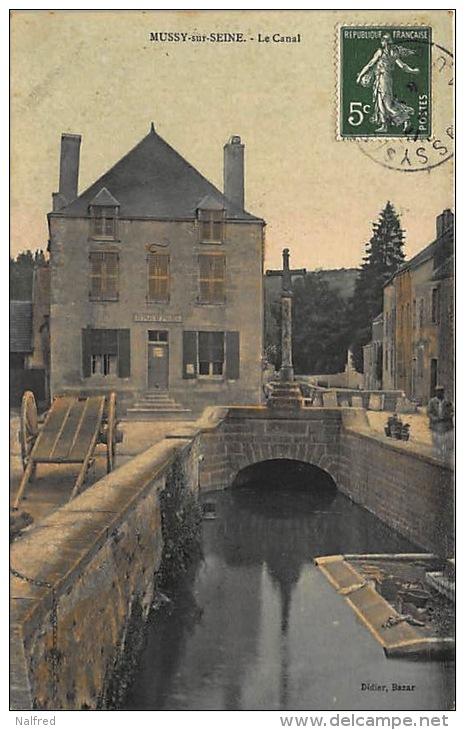 le canal, Mussy sur seine