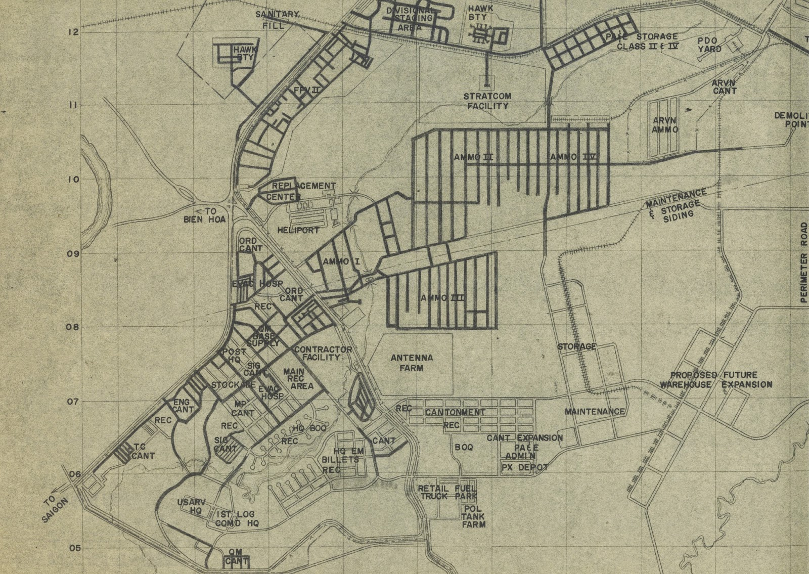 GIS Research and Map Collection Vietnam War Maps from Ball State