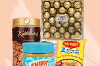 Buy Foods & Grocery upto 60% off + 10% off on Rs. 300 : BuyToEarn