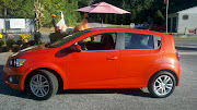 2012 Chevy Sonic LT 5Door Hatchback: A Subcompact with Spunk and Style