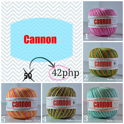 Cannon Mercerized Cotton Thread