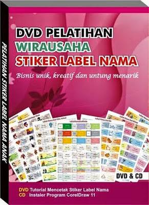 Usaha Stiker Label Nama Anak