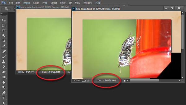 how to change the size of a object in photoshop