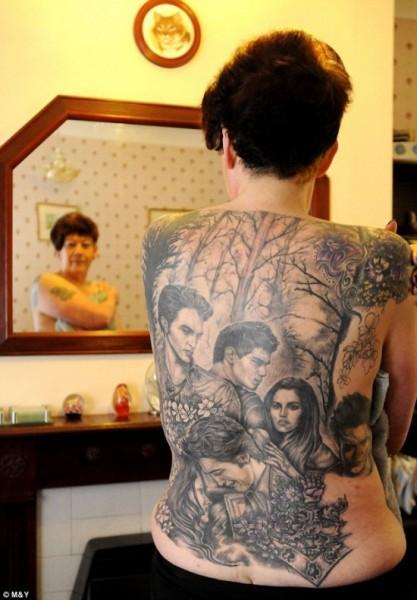 filmes, tatuagens, imagens, cinema, crepusculo, 25 tatuagens baseadas em filmes, arte corporal cinematográfica, eu adoro morar na internet