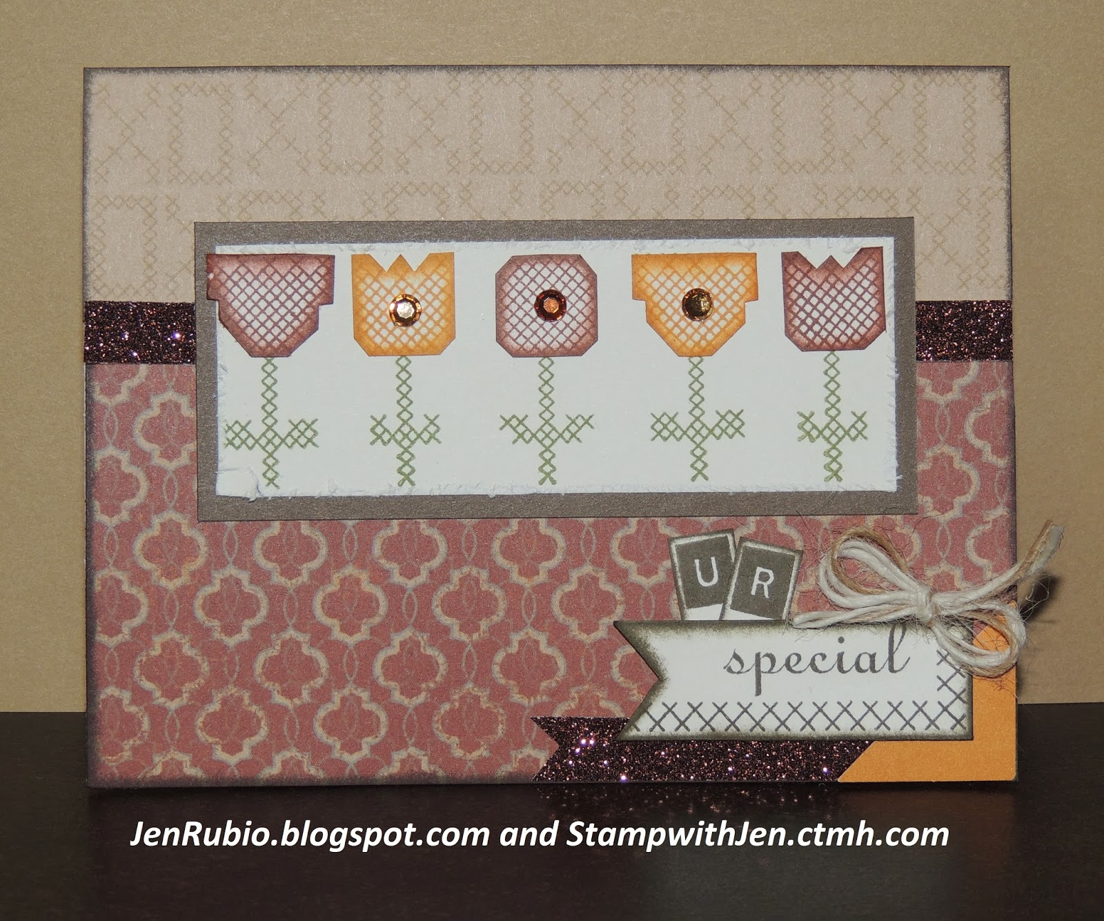 Ctmh with jen rubio january stamp of the month blog hop for Huntington card designs