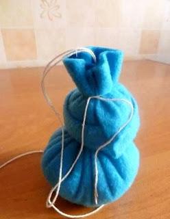 cara membuat kerajinan tangan dari kain flanel