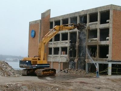 An toàn lao động trong khoan cắt bê tông, phá dỡ công trình