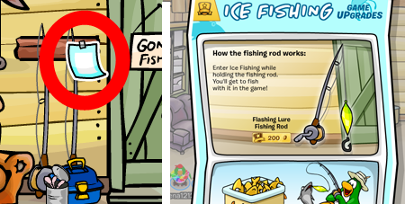 Club Penguin Ice Fishing Grey Fish cheats