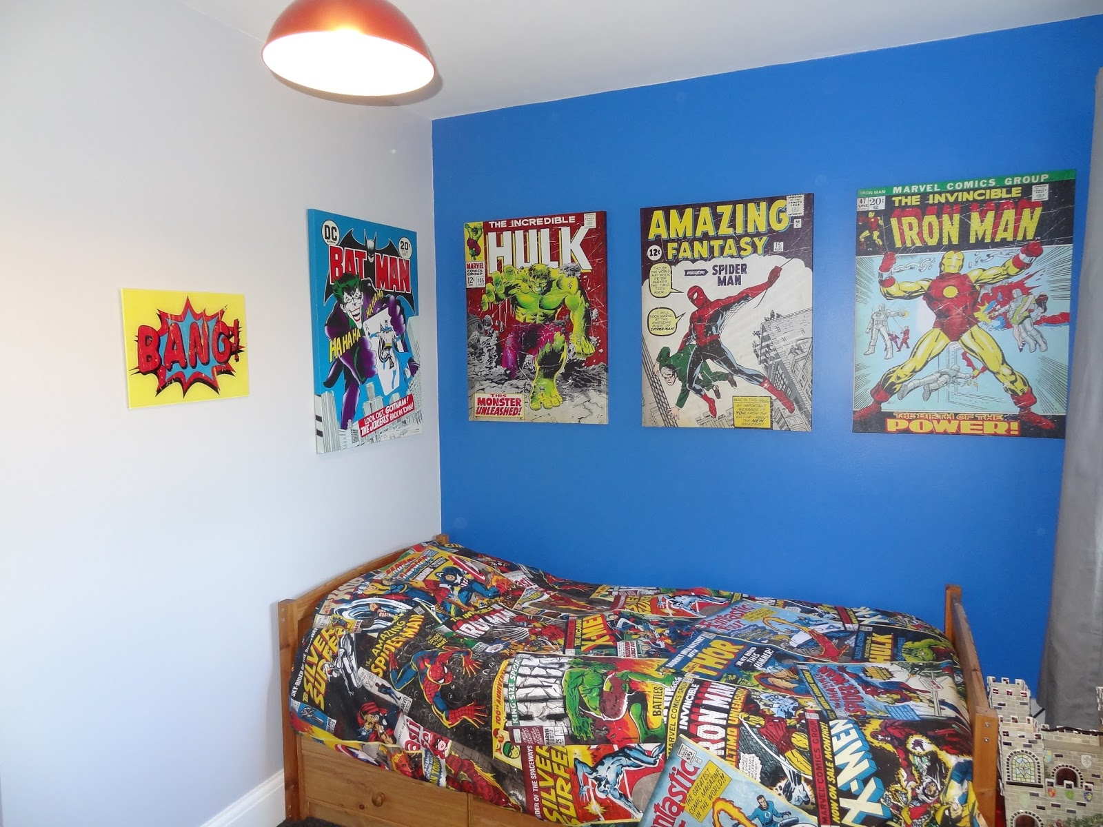 Marvel Themed Room Happiness Is Homemade My Boys Themed Bedrooms