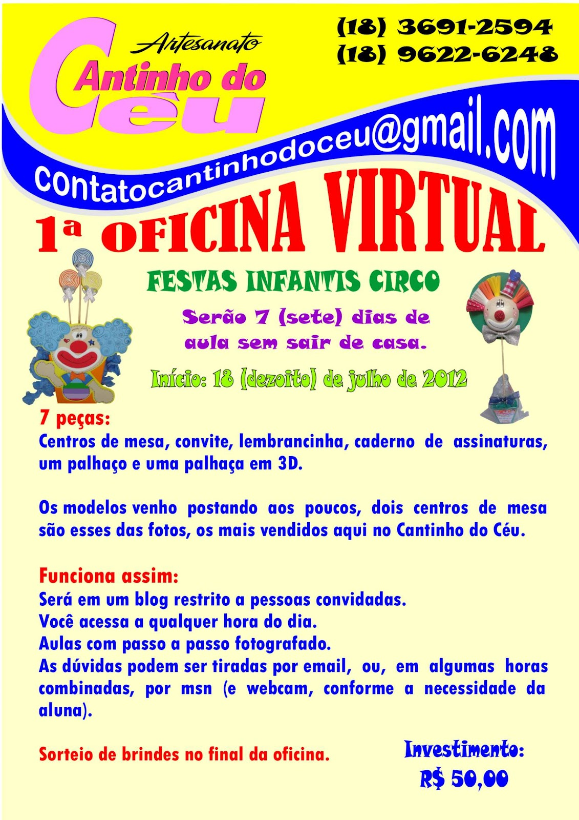 Angel artes em e v a for Oficina virtual de sepe
