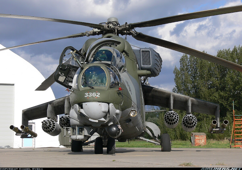 Russian Mi-35 Attack Helicopter
