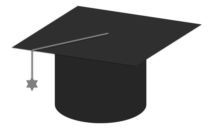 Gorros de graduación dibujos , Imagui