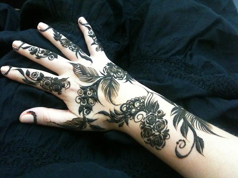 Henna Tattoo Qatar : Henna qatar makedes