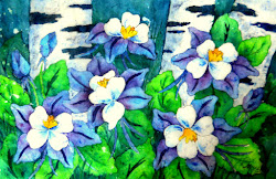 Watercolor Batik Workshop - Aug 17, 2013
