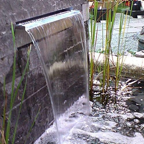 Cascata Dacqua Da Parete : Casa dell idraulica fermo muro lama d acqua zen