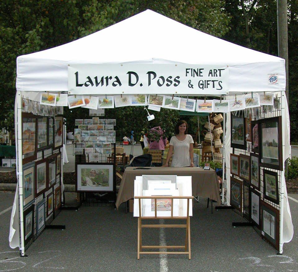 For art 39 s sake booth upgrade step 2 a new display canopy for Display tents for craft fairs