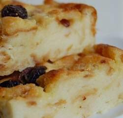 Resep Puding Roti Pisang Sederhana