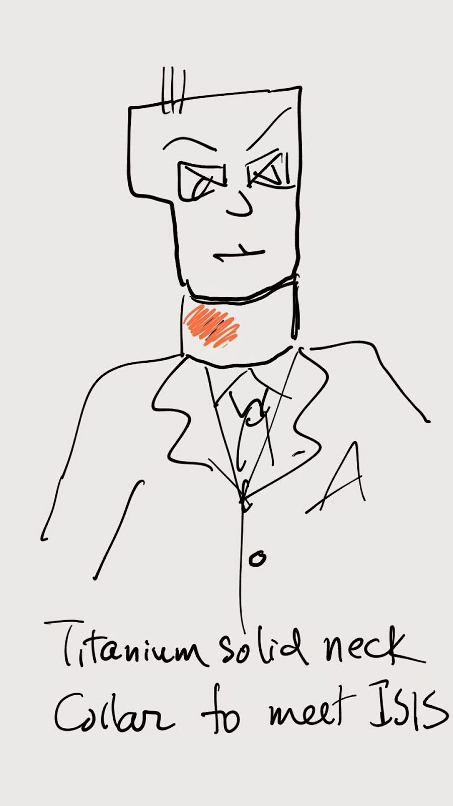 Wear this HKWF design necklace going to Iraq and Syria